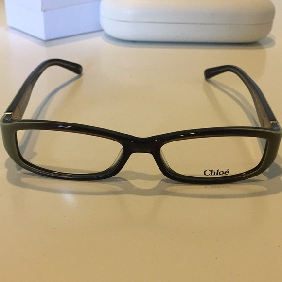 5ca745e8279f Chloe Accessories - Authentic Chloe brown and green ombre frames